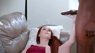 Teen mouth jizzed by bbc