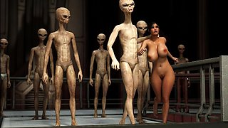 3D Aliens Are Fucking Horny!