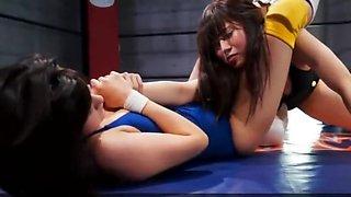 wrestling JAV (not lesbain)