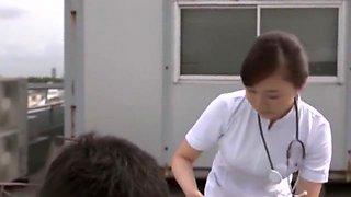 Hottest Japanese whore Ririka Suzuki, Riri Kuribayashi, Megumi Shino in Incredible Small Tits, Softcore JAV clip
