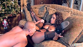 Xander Corvus & Demi Sutra in Home for Christmas: Part 1 - BabesNetwork