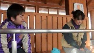 Exotic Japanese model in Horny BBW JAV scene