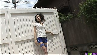 Dirty play with a neighbour leaves Yui Komine with a