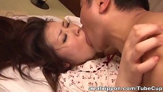 Extreme anal play with toys and cock for mature Jun Sena