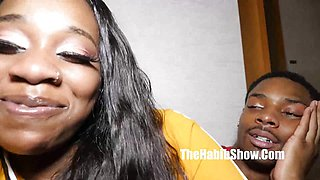 Kinky bbc stretch chocolate spicy fuck that chocolate mouth
