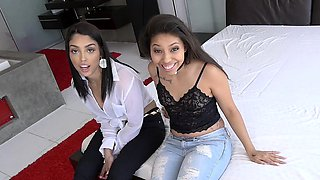 DadCrush- Sexy Sisters Fucked By Stepdad