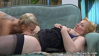GirlsForMatures Video: Flo and Virginia
