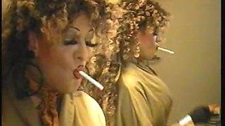 Belinda smoking