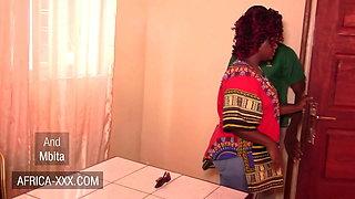 Curvy ebony woman cheats on her husband