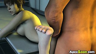 Horny big tits 3D babes fucking deeply in collection