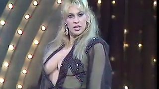 Cicciolina sabrina salerno 80s italian television show