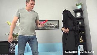 Rebeka Black - Rebecca Black - Angry Husband Punished His Muslim Mommy