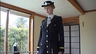 Amelia jane rutherford police station uniform