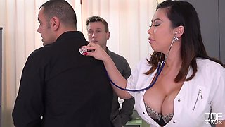 Hot Plump Japanese Nurse Wants To Double Anal