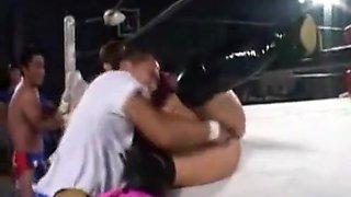 Incredible xxx video Wrestling homemade unbelievable you've seen