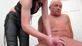 Tugjob from German Dominant-Bitch
