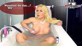 german blonde big tits teen creampie gangbang homemade