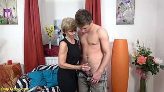 ugly 75 years old granny loves toyboy