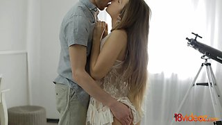 18 Videoz - Teen fucks with sensual passion
