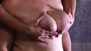 Playing with Perfect MILF Boobs - Big Natural Boobs - Amazing MILF Tits