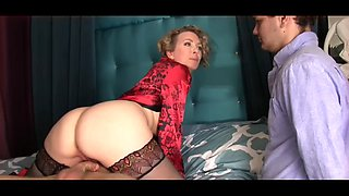 Mother fucked in front of son