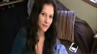 Sister sucks brother off