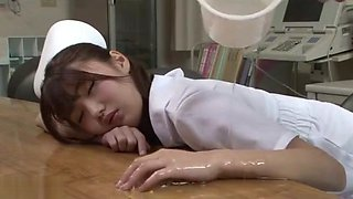 nurse in lotion 41576