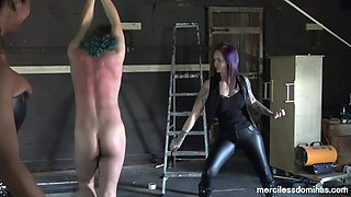 Heat of Strapped Flesh - Lady Wolf and Goddess Valkyrie