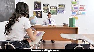 Eliza Ibarra In Vixen School Girl Fucked In Plaid Skirt