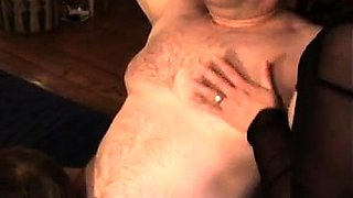 Bisexual mature lovers invite a guy for a femdom threesome