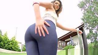 Horny slut ass creampied