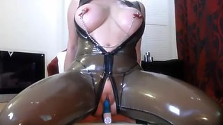 transparent latex catsuit_3_2