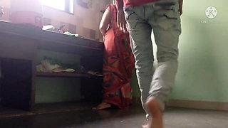 Bhabhi ko kitchen me Chod Dia