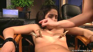 THe dirty BDSM bisexual scene with Jesika Gold and Katy Parker