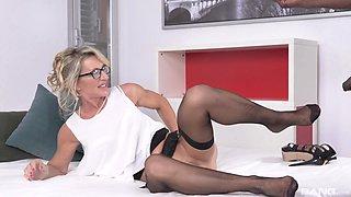 Passionate milf Marina Beaulieu adores her friend's black penis