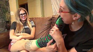 Mistress socks worship