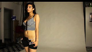 Big Tits Real Life Indian Girl Shanaya Striptease