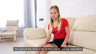 Virgin Girl Is Hymen Casting - Monika Jelolt
