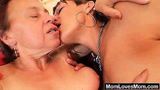 Unshaved grandma and strange mature crazy vibrator fuck