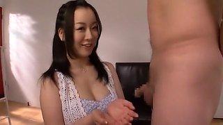 Fabulous Japanese slut Seira Mizushiro in Exotic Big Tits, Cunnilingus JAV clip