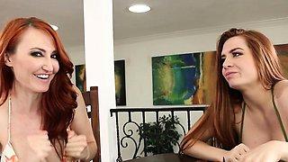 Lesbian bikini milf chats