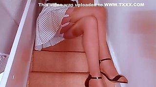 Retro Girdle Panties And Stockings