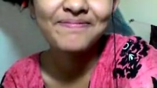 Desi 20y old college maal hungry for 12 inch desi Lund shows all moves bath