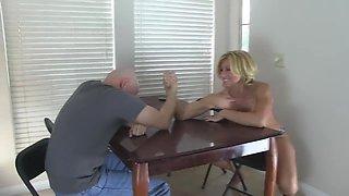 Arm Wrestling & Ballbusting