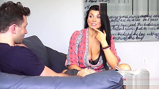 Porn Star Romi Rain Uses Big Tits And Tight Pussy For Rough Homemade Fuck
