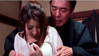 House maid Hitomi Kitagawa gets raped by her master