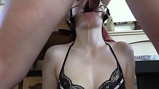 Miss Deep Misia extreme throat fuck