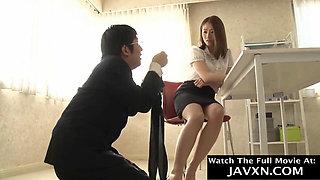 Japanese Office Slut Gets Fucked