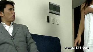 KOREA1818.COM - HOT Korean MIlF in Towel Seduction