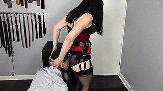 Ass Smother with Face/Bottom Harness